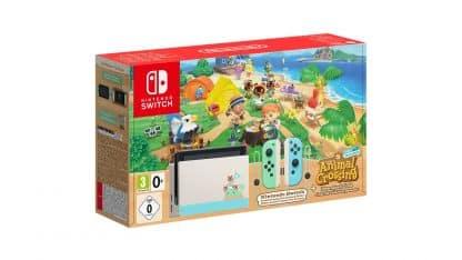 קונסולת Nintendo Switch במהדורת אנימל קרוסינג
