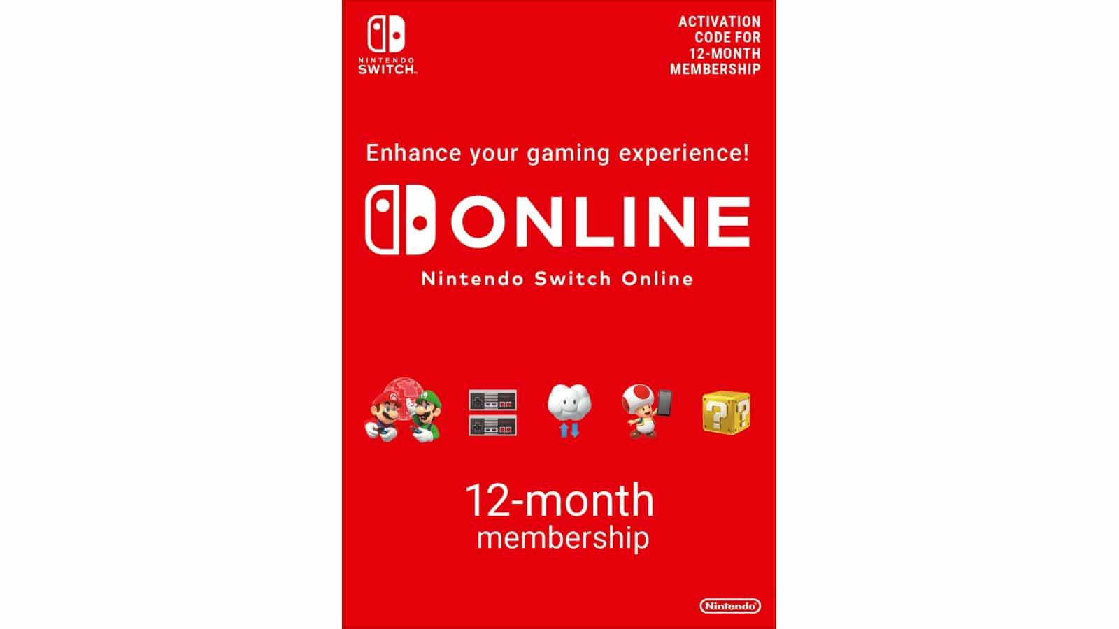 נינטנדו סוויץ' אונליין - Nintendo Switch Online - מנוי 365 יום