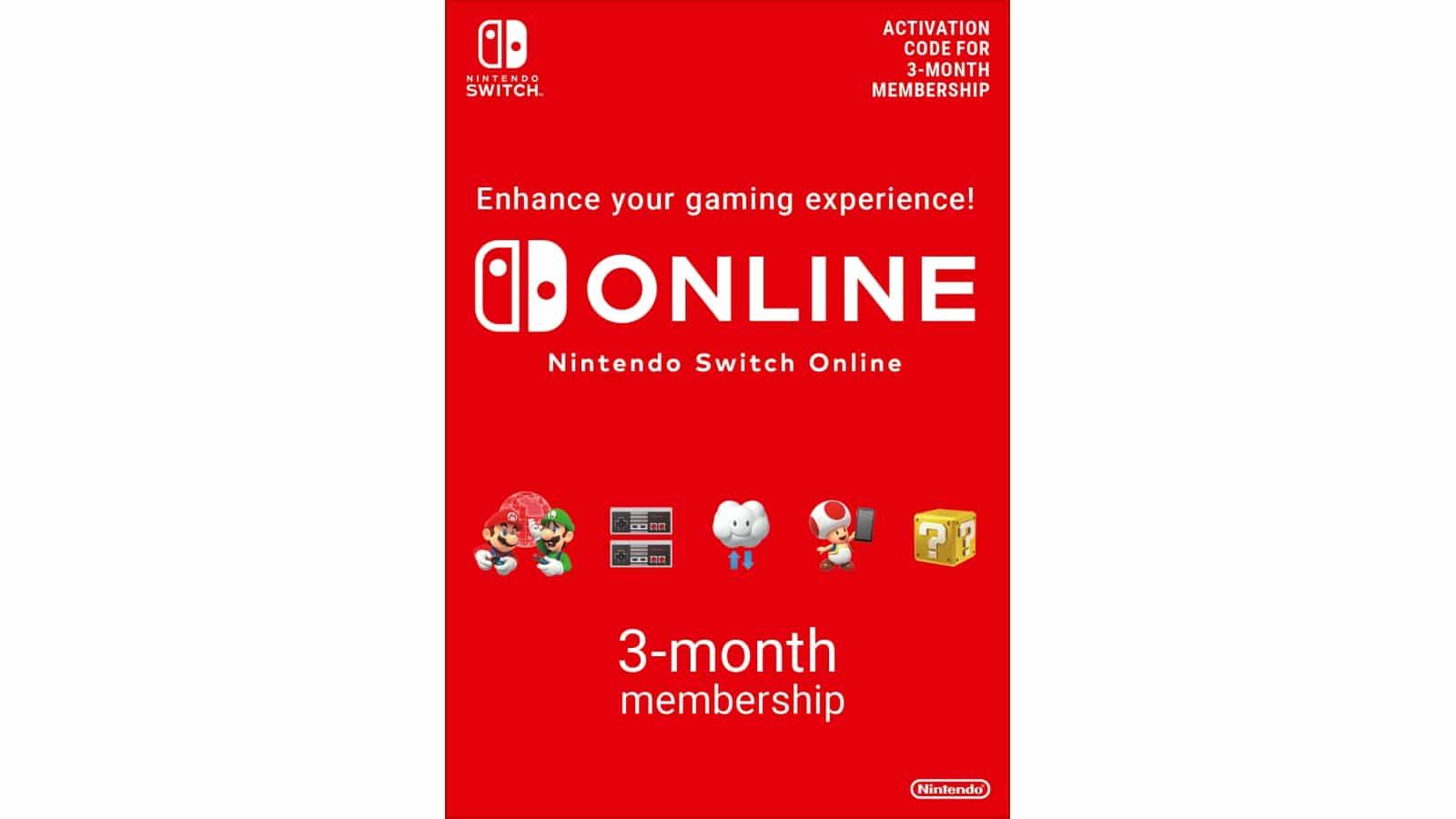 נינטנדו סוויץ' אונליין - Nintendo Switch Online - מנוי 90 יום