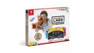ערכת Nintendo LABO VR - אריזה