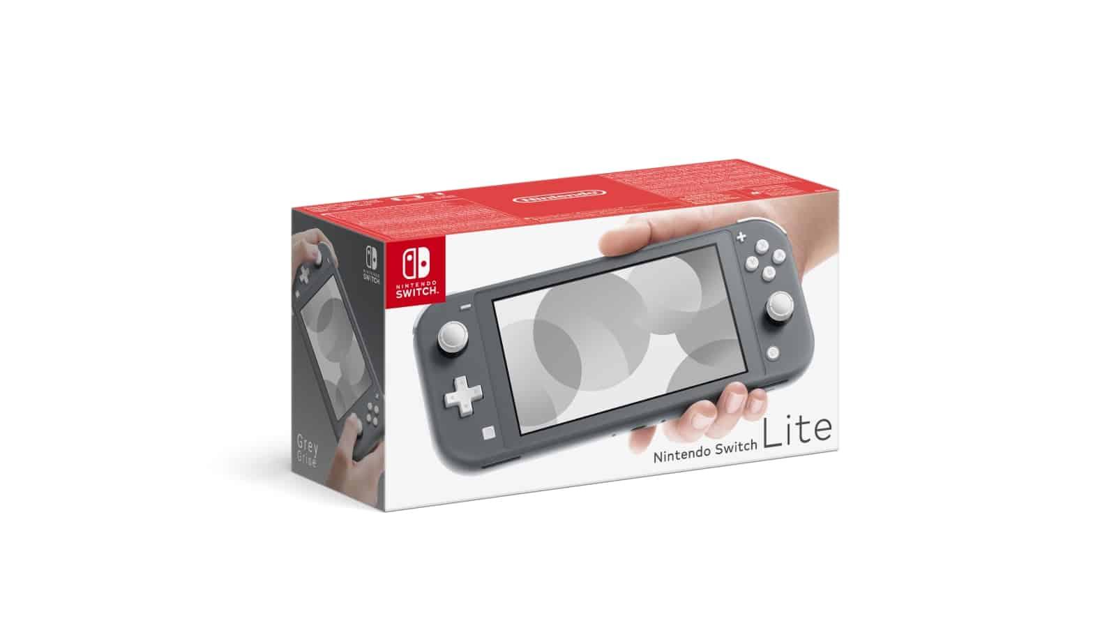 Nintendo Switch Lite - אפור