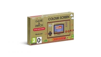 קונסולת Game & Watch: Super Mario Bros. - אריזה