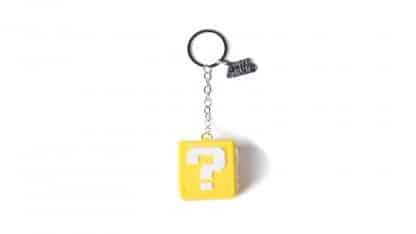 מחזיק מפתחות - בלוק שאלה תלת-ממדי מהעולם של סופר מריו