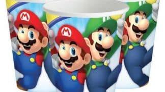 כוסות חד פעמיות סופר מריו