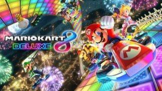 משחק Mario Kart 8 Deluxe לנינטנדו סוויץ'