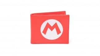 ארנק עם הלוגו של סופר מריו בצבע אדום