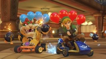 משחק Mario Kart 8 Deluxe לנינטנדו סוויץ' - לינק ובאוזר
