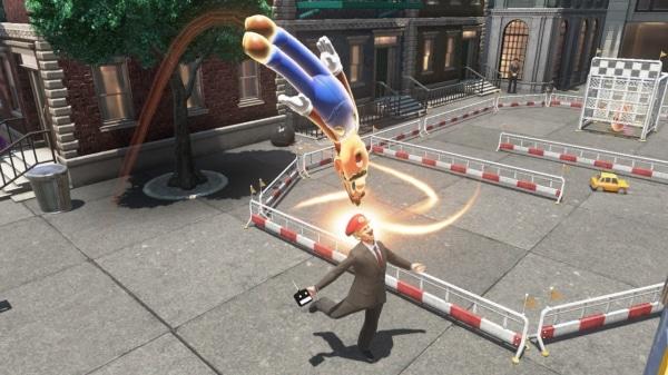 משחק Super Mario Odyssey לנינטנדו סוויץ' - מריו משתלט על בן אדם