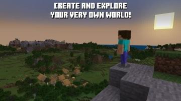 צילום מסך 1 למשחק: Minecraft לקונסולת נינטנדו סוויץ' עולם Minecraft