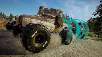 צילום מסך 3 למשחק: Monster Jam Steel Titans 2 לקונסולת נינטנדו סוויץ' תחרות מונסטר ג'אם