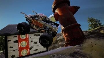 צילום מסך 3 למשחק: Monster Jam Steel Titans 2 לקונסולת נינטנדו סוויץ' תחרות מאנסטר ג'אם