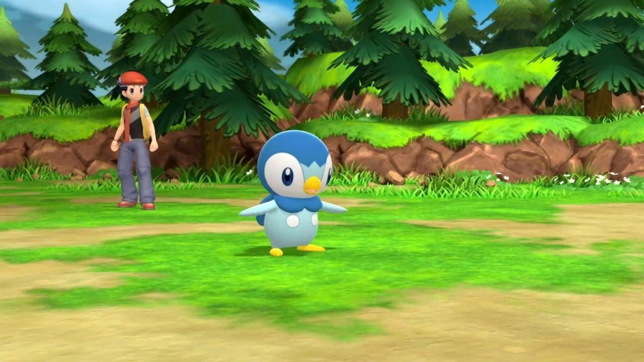 משחקים Pokémon Brilliant Diamond & Pokémon Shining Pearl לנינטנדו סוויץ' - קרב עם פיפלאפ