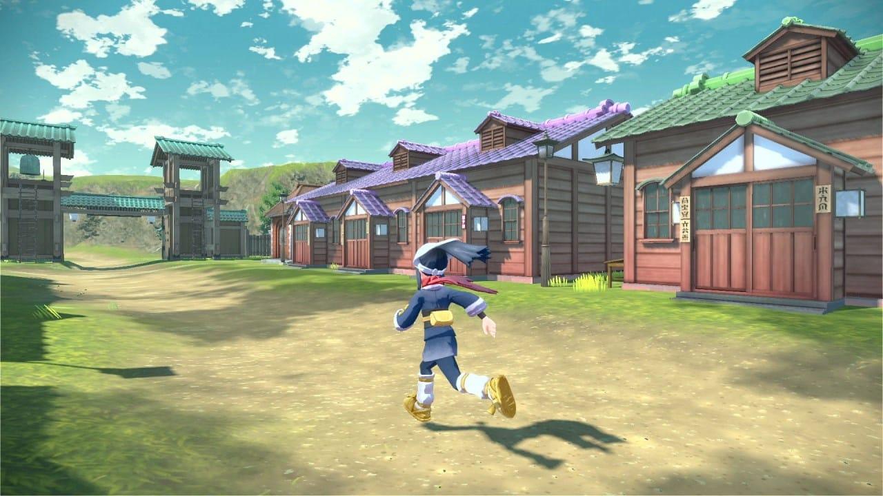 משחק Pokémon Legends: Arceus לנינטנדו סוויץ' - שחקנית בכפר