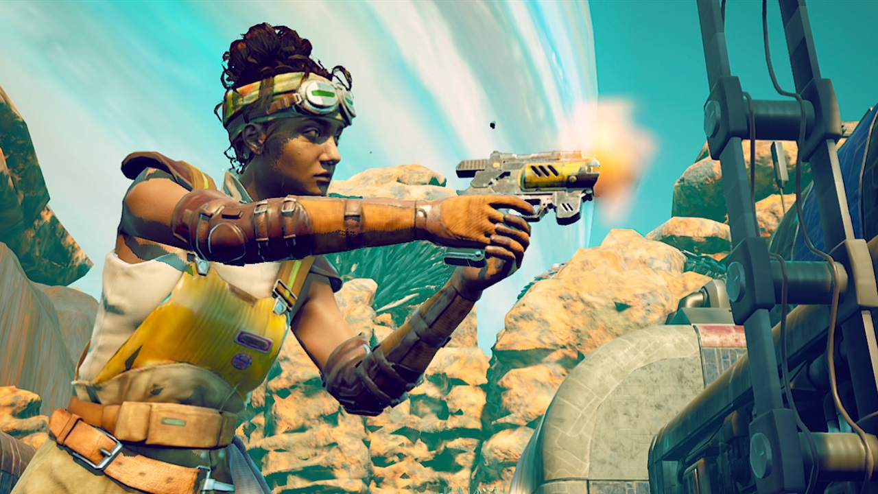 צילום מסך 3 למשחק: The Outer Worlds לנינטנדו סוויץ'