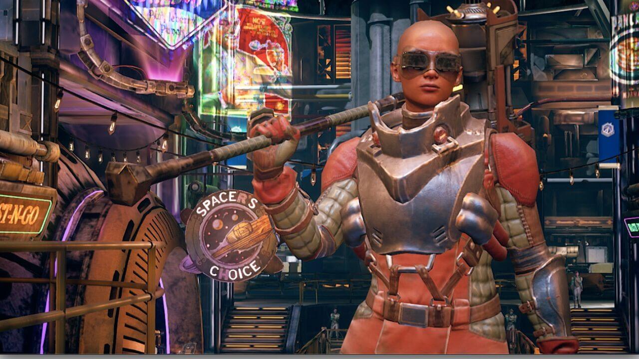 צילום מסך 2 למשחק: The Outer Worlds לנינטנדו סוויץ'