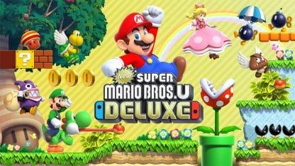 משחק New Super Mario Bros. U Deluxe לנינטנדו סוויץ'