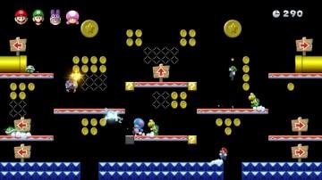משחק New Super Mario Bros. U Deluxe לנינטנדו סוויץ' - שלב חשוך