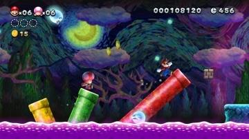 משחק New Super Mario Bros. U Deluxe לנינטנדו סוויץ' - שלב ציורי