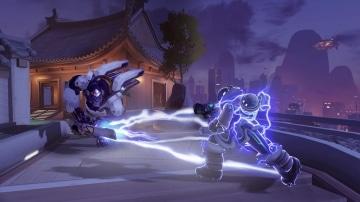 צילום מסך 4 למשחק: Overwatch Legendary Edition לקונסולת נינטנדו סוויץ' קרב בין דמויות