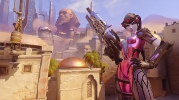 צילום מסך 2 למשחק: Overwatch Legendary Edition לקונסולת נינטנדו סוויץ' הדמות widowmaker