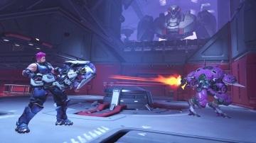 צילום מסך 2 למשחק: Overwatch Legendary Edition לקונסולת נינטנדו סוויץ' קרב בין היריבים