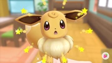 צילום מסך 3 מתוך המשחק: Pokemon Let's Go : Eevee הפוקימון איב מבוהל