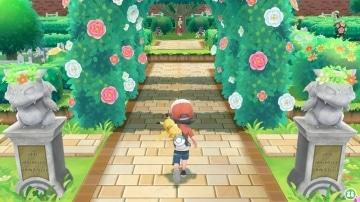 צילום מסך 2 מתוך המשחק: Pokemon Let's Go : Pikachu אש ופיקאצ'ו במסעות