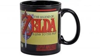 ספל בעיצוב המשחק The Legend of Zelda: A Link to the Past.
