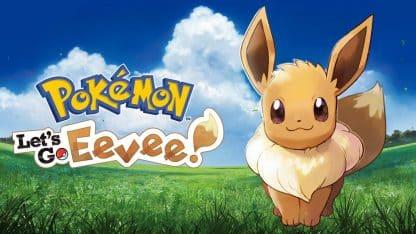 משחק Pokemon Let's Go : Eevee