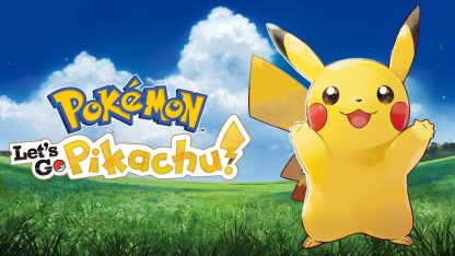 משחק Pokemon Let's Go : Pikachu