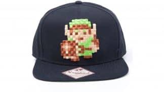 כובע שחור בעיצוב דמותו של לינק ממשחק The Legend of Zelda הראשון.