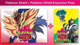 משחק Pokémon Shield + Pokémon Shield Expansion Pass The Isle of Armor + The Crown Tundra לקונסולת נינטנדו סוויץ'