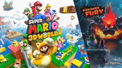 משחק Super Mario 3D World + Bowser's Fury לנינטנדו סוויץ'
