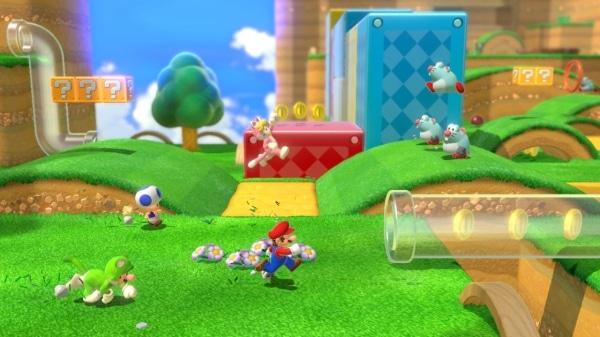 משחק Super Mario 3D World + Bowser's Fury לנינטנדו סוויץ' - שלב ראשון