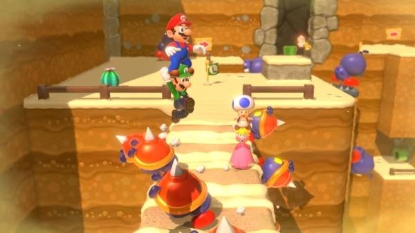 משחק Super Mario 3D World + Bowser's Fury לנינטנדו סוויץ' - שלב מדבר