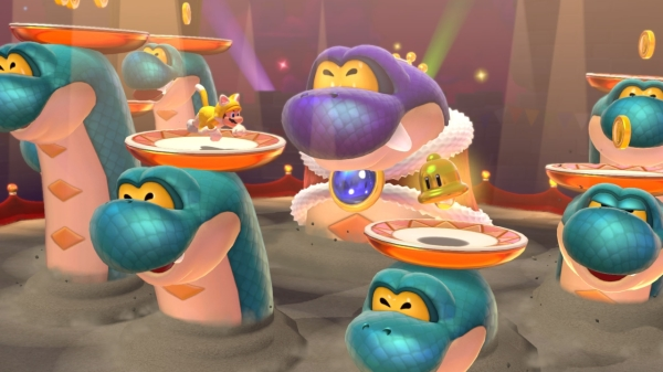 משחק Super Mario 3D World + Bowser's Fury לנינטנדו סוויץ' - בוס היססטוקרט