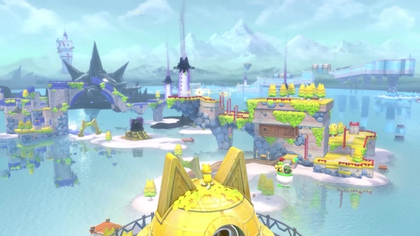 משחק Super Mario 3D World + Bowser's Fury לנינטנדו סוויץ' - אגם לאפקט