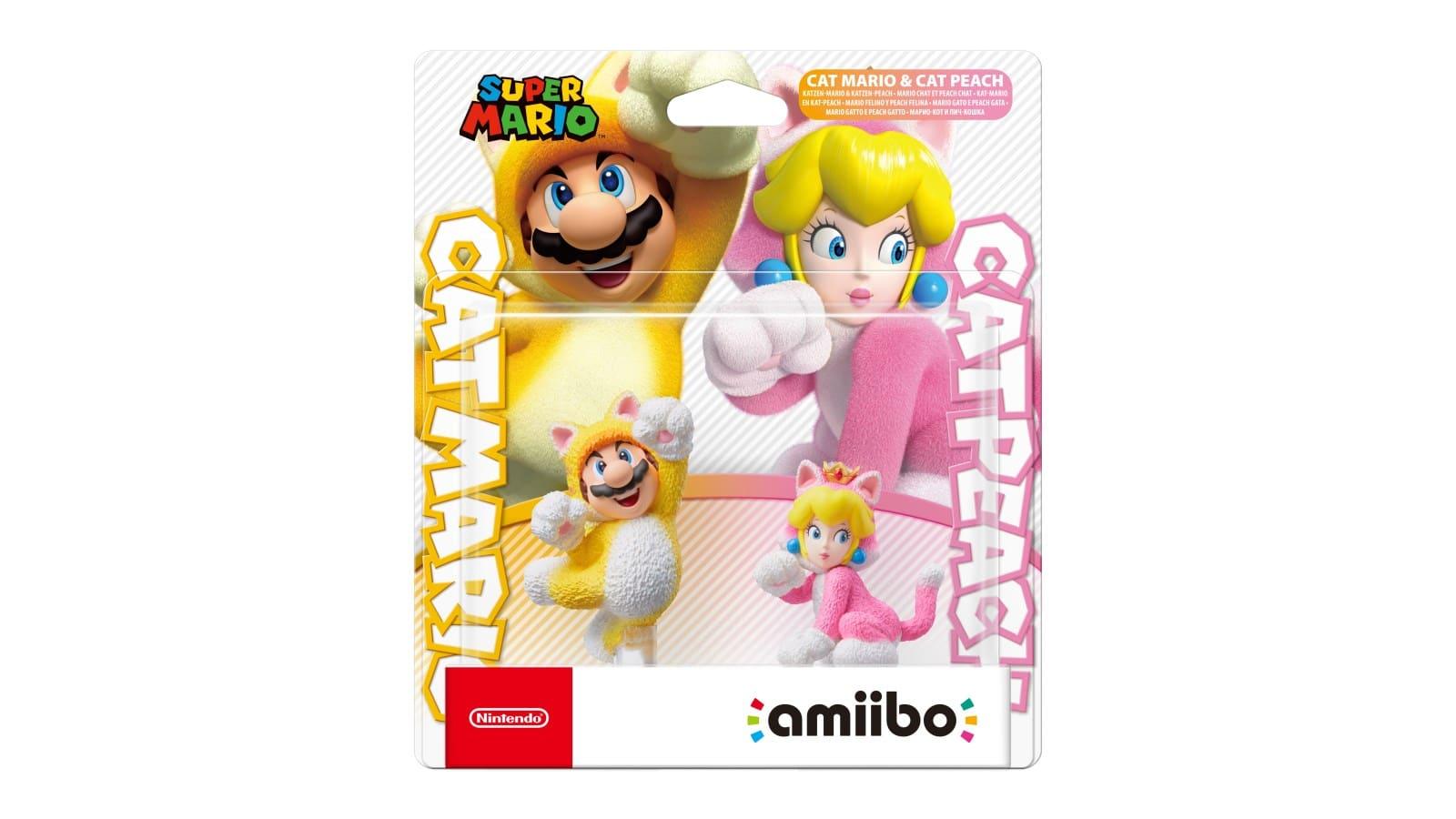 אמיבו - Cat Mario & Cat Peach (סדרת סופר מריו)