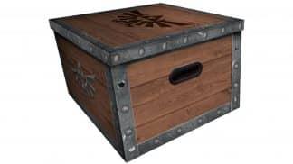 קופסת איחסון בצורת תיבת אוצר מעולם זלדה.