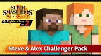 Super Smash Bros. Ultimate: Steve & Alex Challenger Pack - הרחבה דיגיטלית