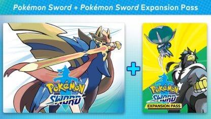 משחק Pokémon Sword + Pokémon Sword Expansion Pass The Isle of Armor + The Crown Tundra לקונסולת נינטנדו סוויץ'