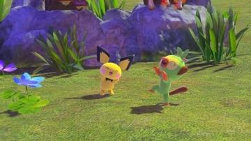 צילום מסך 2 מתוך המשחק: New Pokémon Snap פוקימונים בטבע
