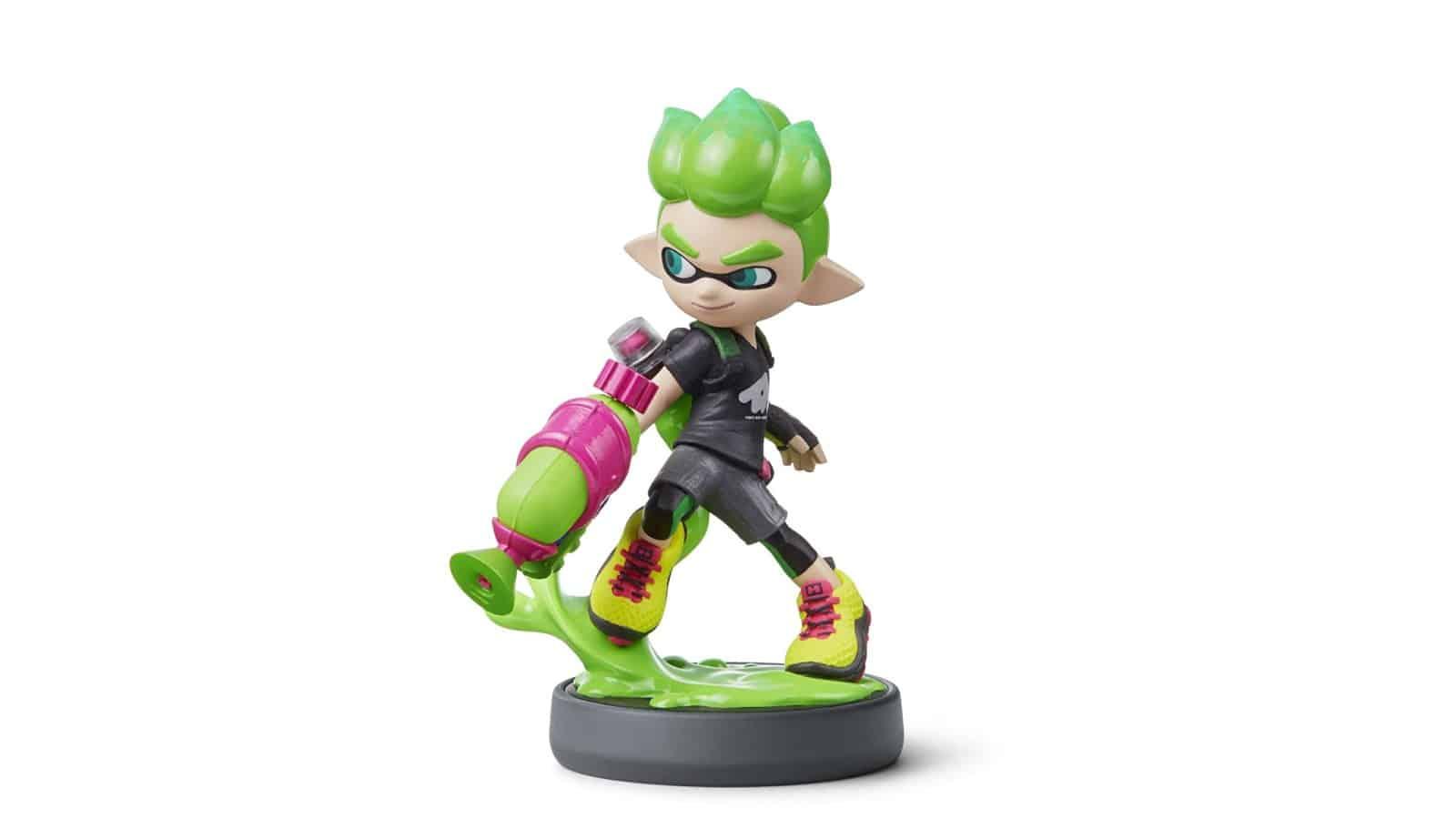 אמיבו - Inkling Boy - ירוק (סדרת ספלאטון)