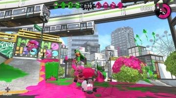 צילום מסך 1 מתוך המשחק: Splatoon 2
