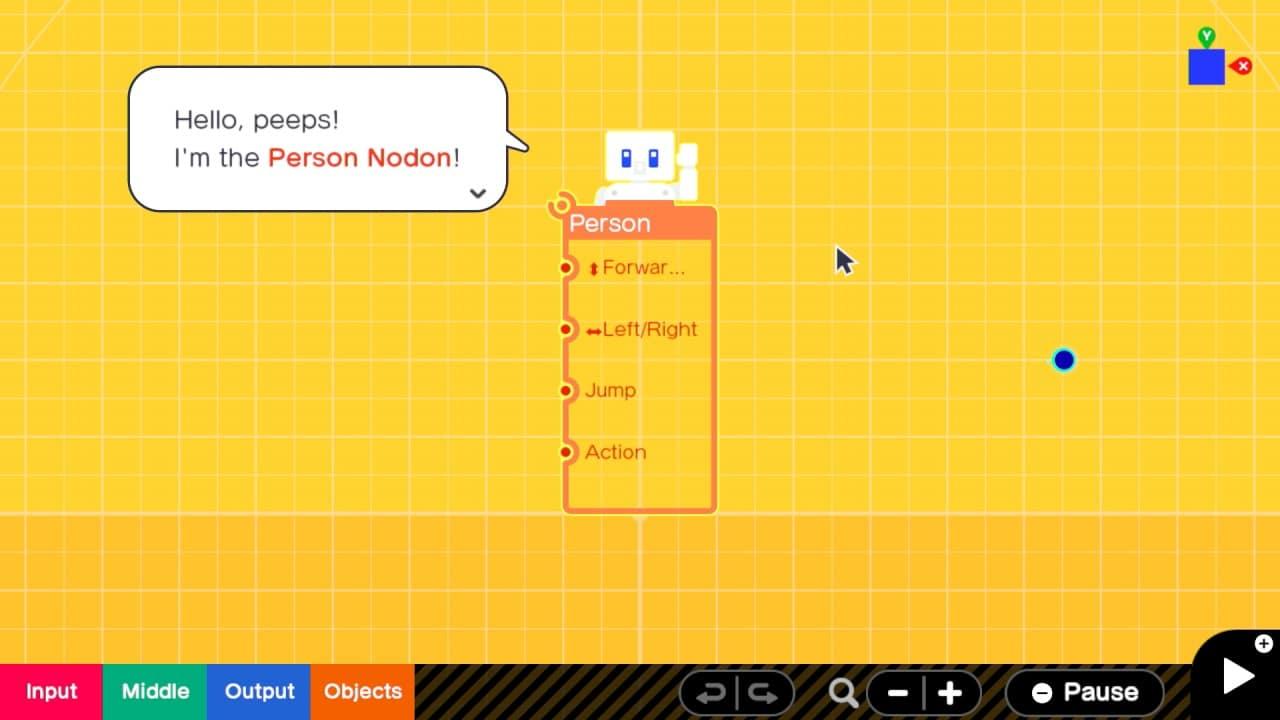 משחק Game Builder Garage לנינטנדו סוויץ' - Nodon 2