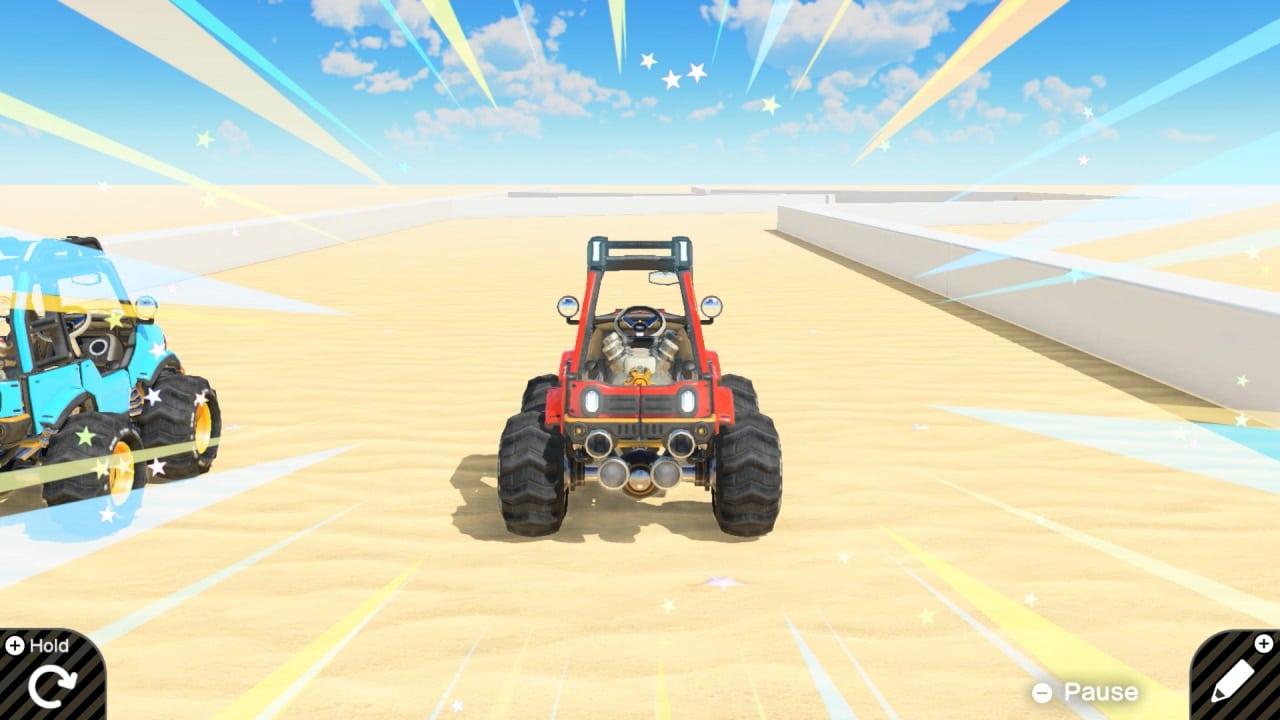 משחק Game Builder Garage לנינטנדו סוויץ' - רכב