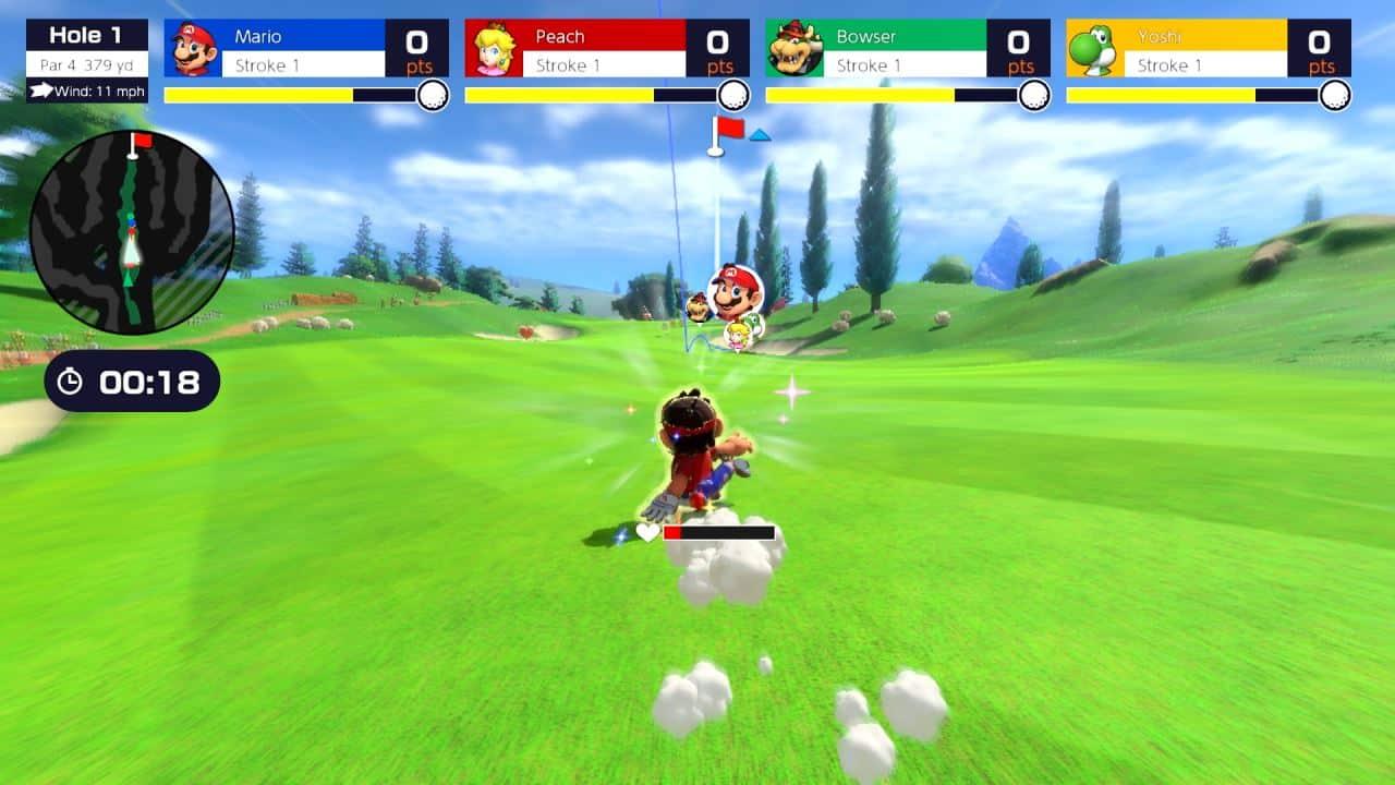 משחק Mario Golf: Super Rush לנינטנדו סוויץ' - מריו