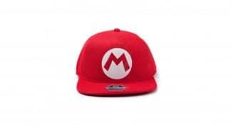 כובע אדום עם האות M של סופר מריו