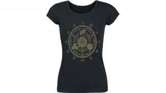 חולצה (נשים) - זלדה שער הזמן - שחור