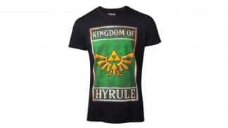 חולצה - זלדה ממלכת היירול - שחור